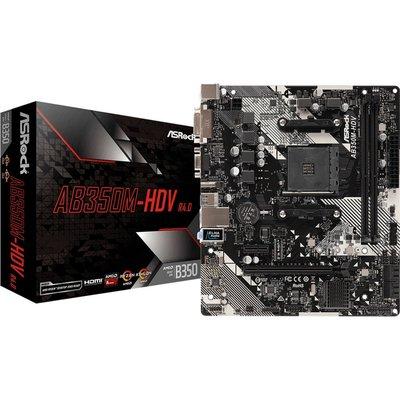 MB ASRock AB350M-HDV R3.0 / AM4 / B350 /Micro-ATX / 2x DDR4