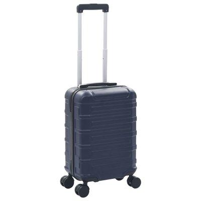 Harde koffer ABS marineblauw