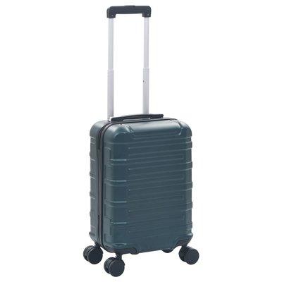 Harde koffer ABS groen