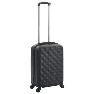 Harde koffer ABS zwart