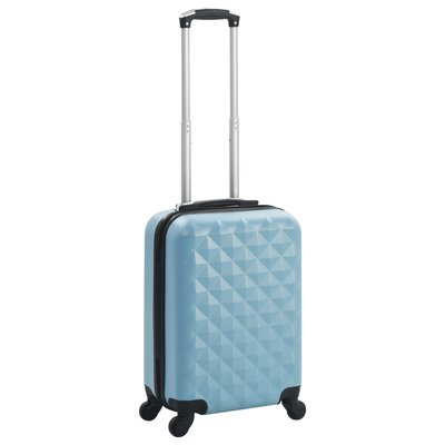 Harde koffer ABS blauw