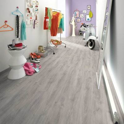 Laminaat vloerplanken 101,01 m² 6 mm North Cape Oak Grey
