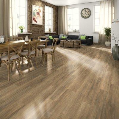 Laminaat vloerplanken 74,4 m² 7 mm Brown Ampara Oak