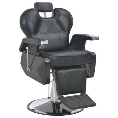 Kappersstoel 72x68x98 cm kunstleer zwart