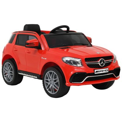 Kinderauto Mercedes Benz GLE63S kunststof rood