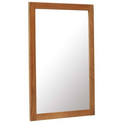 Spiegel 60x90 cm massief eikenhout