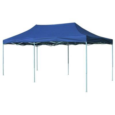Vouwtent pop-up 3x6 m blauw