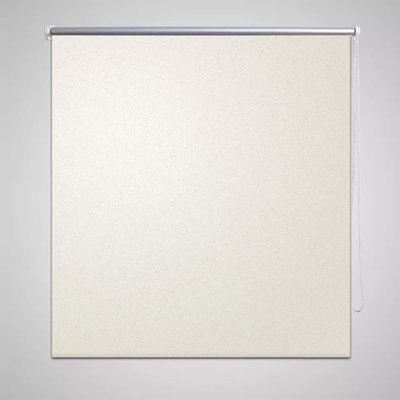 Rolgordijn verduisterend 80 x 175 cm crême