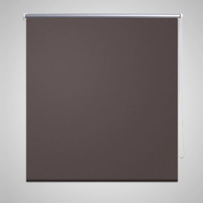 Rolgordijn verduisterend 80 x 175 cm koffiebruin