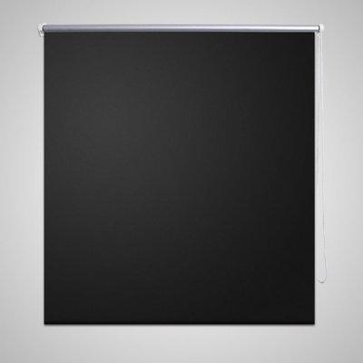 Rolgordijn verduisterend 100 x 175 cm zwart