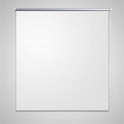 Rolgordijn verduisterend 160 x 175 cm wit