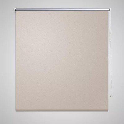 Rolgordijn verduisterend 160 x 175 cm beige