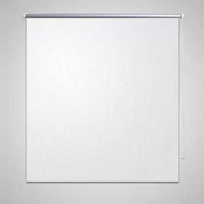 Rolgordijn verduisterend 80x230 cm wit