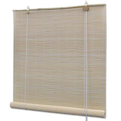 Rolgordijn Bamboe  120 x 160 cm (Naturel)