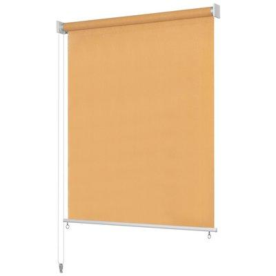 Rolgordijn voor buiten 140x140 cm beige