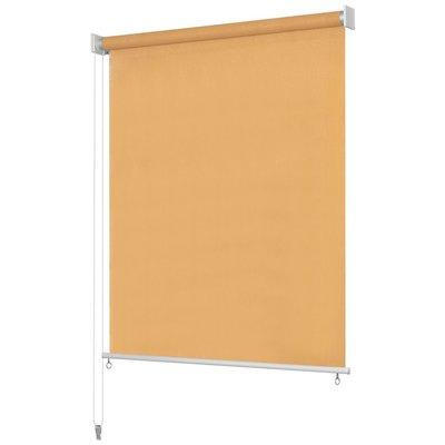 Rolgordijn voor buiten 140x230 cm beige