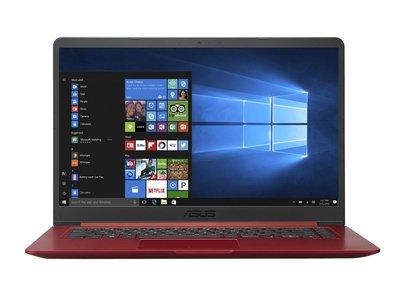 """ASUS R520UA-EJ932T notebook Rood 39,6 cm (15.6"""") 1920 x 1080 Pixels Intel® 8ste generatie Core™ i3 i3-8130U 4 GB DDR4-SDRAM 1000"""