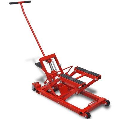 Hydraulische motor/ATV krik 680 kg rood