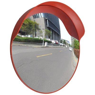 Verkeersspiegel voor buiten 60 cm (oranje)