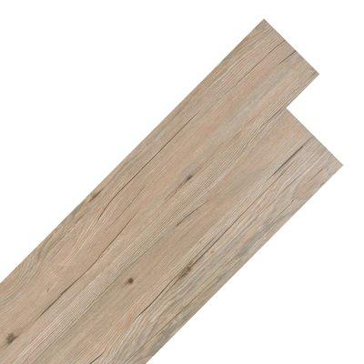 Vloerplanken zelfklevend 5,02 m² 2 mm PVC eiken bruin
