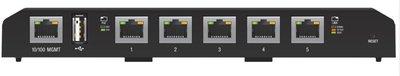 Ubiquiti Networks EdgeSwitch 5XP Managed Gigabit Ethernet (10/100/1000) Zwart Power over Ethernet (PoE)