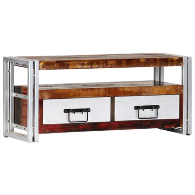 Tv-meubel 90x30x40 cm massief gerecycled hout