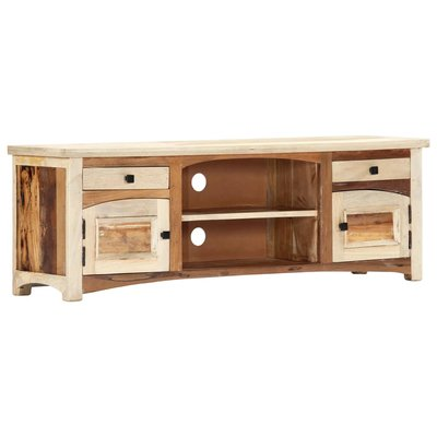 Tv-meubel 120x30x40 cm massief gerecycled hout