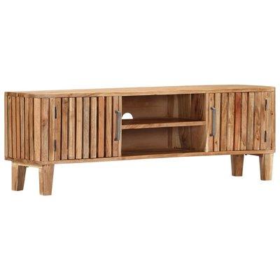 Tv-meubel 130x30x45 cm massief acaciahout