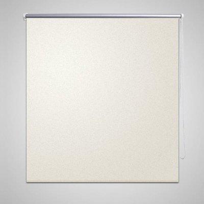 Rolgordijn verduisterend 100 x 230 cm crême