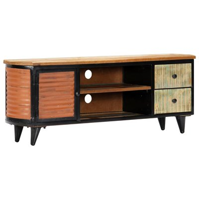 Tv-meubel 120x30x45 cm massief gerecycled hout