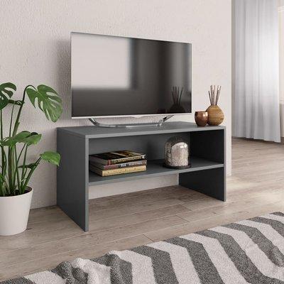 Tv-meubel 80x40x40 cm spaanplaat grijs