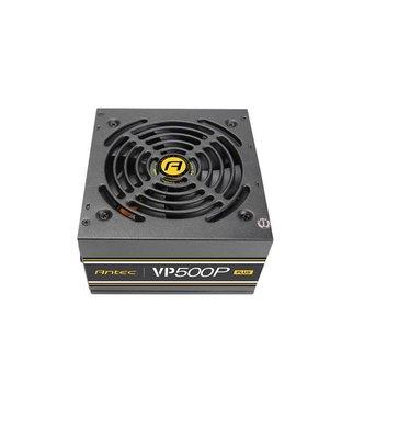 Antec VP500P Plus EC power supply unit 500 W ATX Zwart