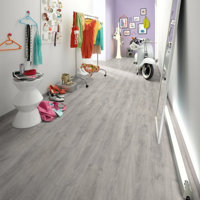 Laminaat vloerplanken 30,3 m² 6 mm North Cape Oak Grey