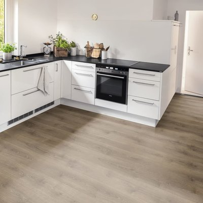 Laminaat vloerplanken 24,8 m² 7 mm Grey Brook Oak