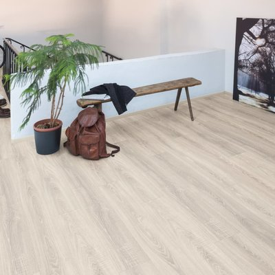 Laminaat vloerplanken 33,83 m² 8 mm Toscolano Oak Light