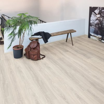 Laminaat vloerplanken 37,81 m² 8 mm Toscolano Oak Light