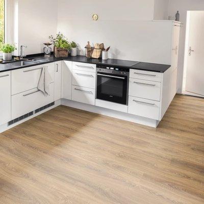 Laminaat vloerplanken 25,87 m² 8 mm Toscolano Oak Nature