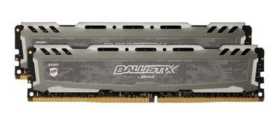Crucial Ballistix Sport LT geheugenmodule 16 GB DDR4 3000 MHz