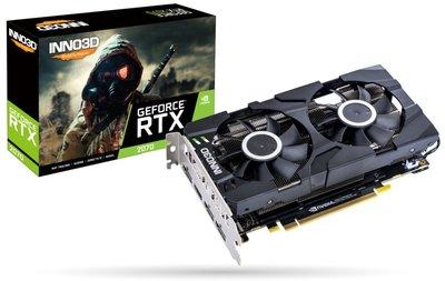 Inno3D N20702-08D6-1710VA23 videokaart GeForce RTX 2070 8 GB GDDR6