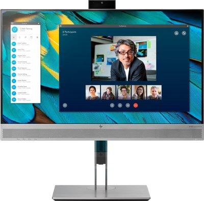 "MON HP EliteDisplay E243m LED 23.8"" F-HD Flat Zwart, Zilver (hoogte verstelbaar)"