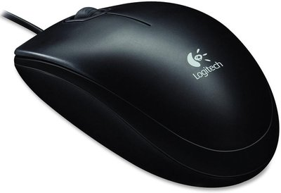 Logitech OEM Optical Mouse B100 Black