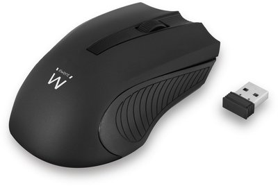 Ewent EW3222 muis RF Wireless Optical 1200 DPI Ambidextrous