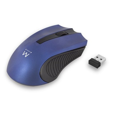Ewent EW3228 muis RF Wireless Optical 1000 DPI Ambidextrous