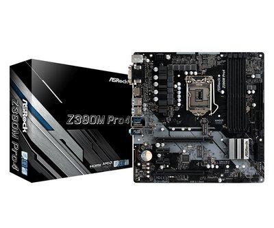 MB Asrock Z390M Pro4 LGA 1151 H4 Micro ATX Intel Z390