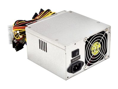 PSU OEM 400Watt 8CM 3 X SATA ROHS no power cable