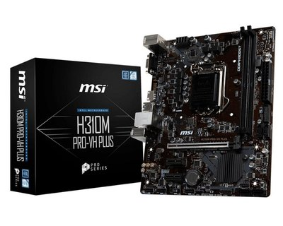 MB MSI H310M-PRO-VH PLUS 1151 8th comp / 2xDDR4 / USB3 / HDMI / MATX