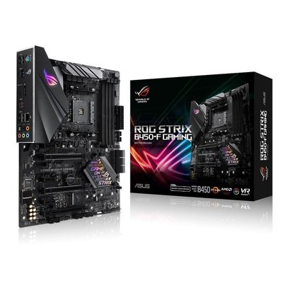 ASUS ROG STRIX B450-F GAMING moederbord Socket AM4 AMD B450