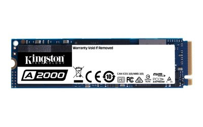 Kingston Technology A2000 M.2 500 GB PCI Express 3.0 3D NAND NVMe