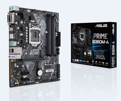 MB Asus Prime B360M-A / 1151 8th comp / 4x DDR4/ HDMI/ M-ATX