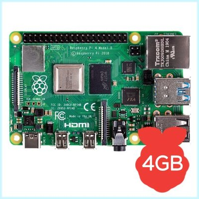 raspberry pi 4 computer model b (4gb ram)